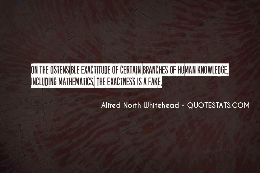 Alfred North Whitehead Sayings #314834