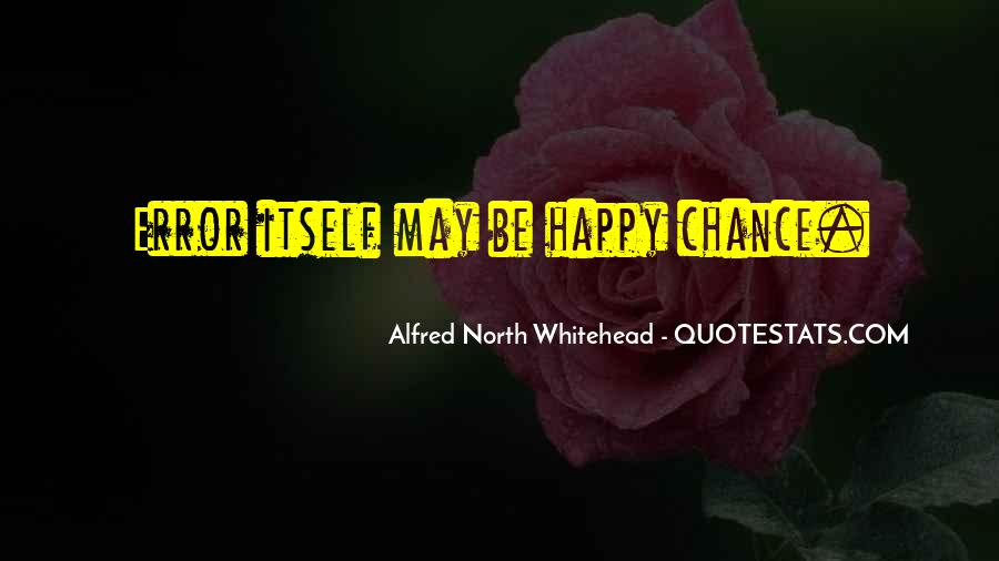 Alfred North Whitehead Sayings #350201