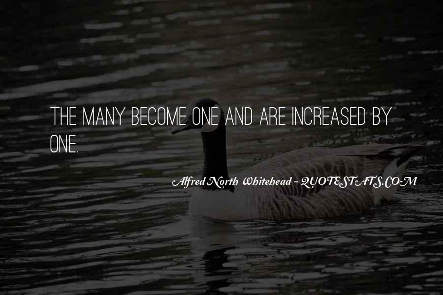 Alfred North Whitehead Sayings #362818