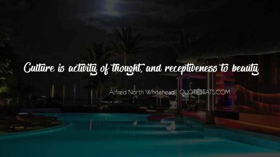 Alfred North Whitehead Sayings #419742