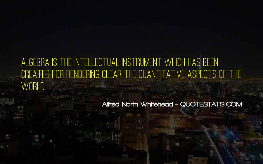 Alfred North Whitehead Sayings #423597
