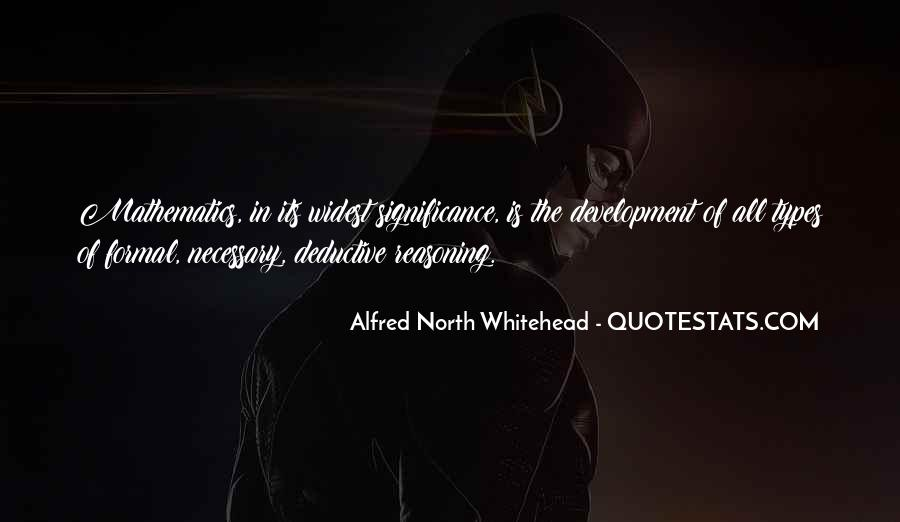 Alfred North Whitehead Sayings #442640