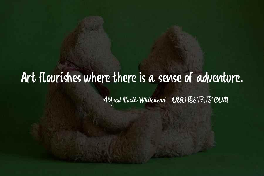 Alfred North Whitehead Sayings #446512