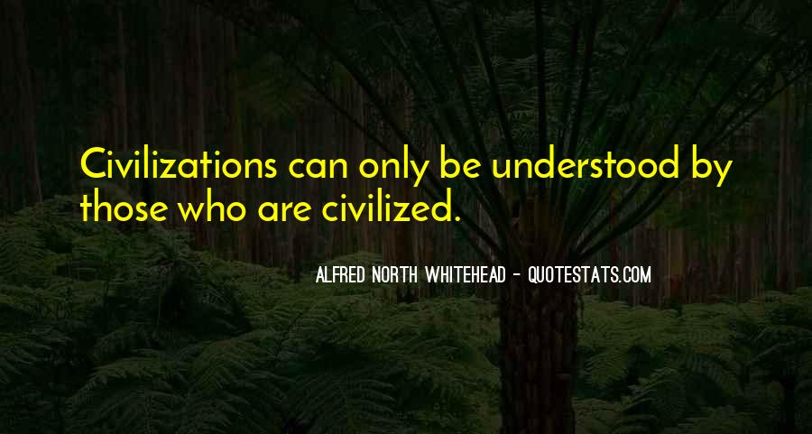 Alfred North Whitehead Sayings #474469