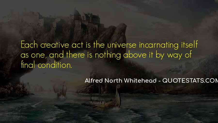 Alfred North Whitehead Sayings #508131