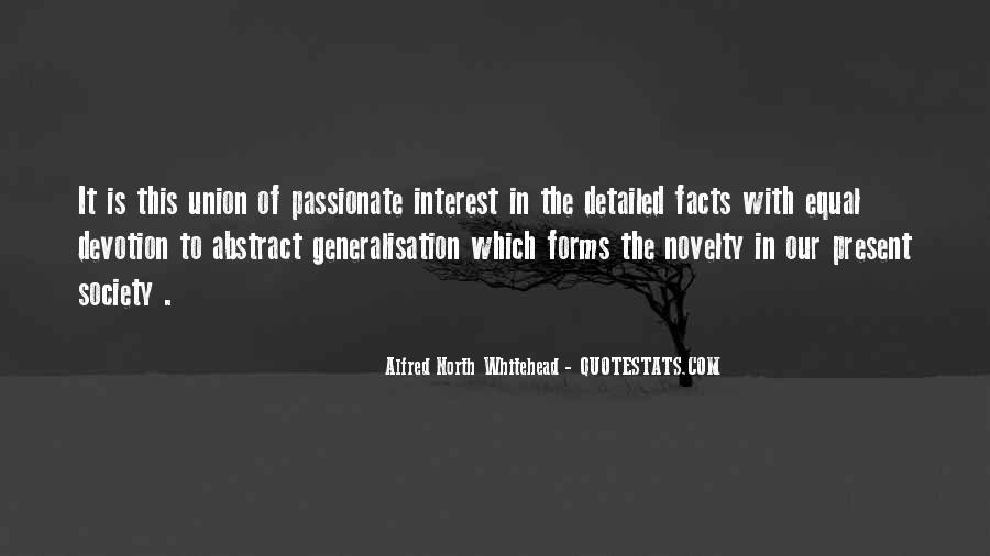 Alfred North Whitehead Sayings #537816