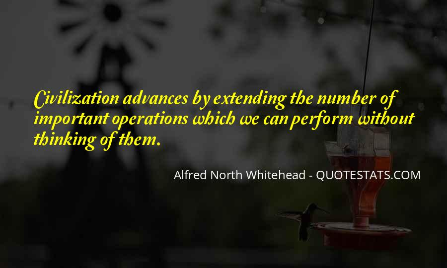 Alfred North Whitehead Sayings #542595