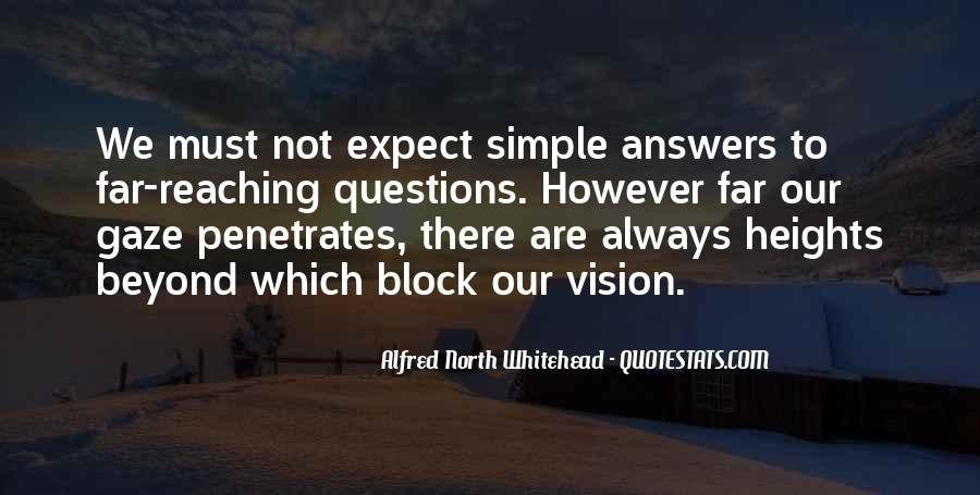 Alfred North Whitehead Sayings #563450