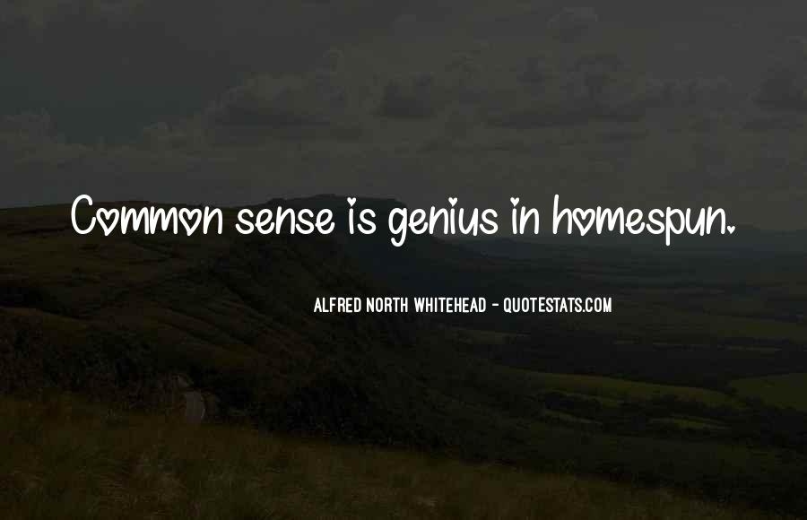 Alfred North Whitehead Sayings #568970