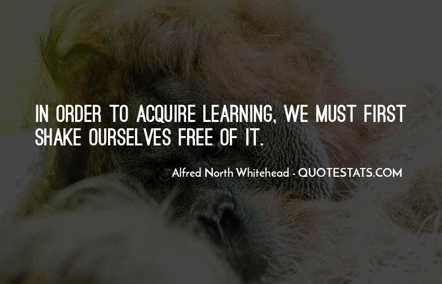 Alfred North Whitehead Sayings #573504