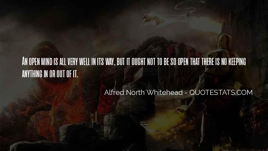 Alfred North Whitehead Sayings #583724