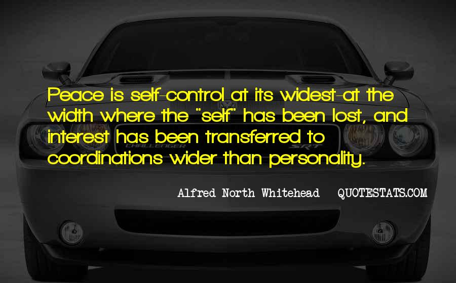 Alfred North Whitehead Sayings #598645