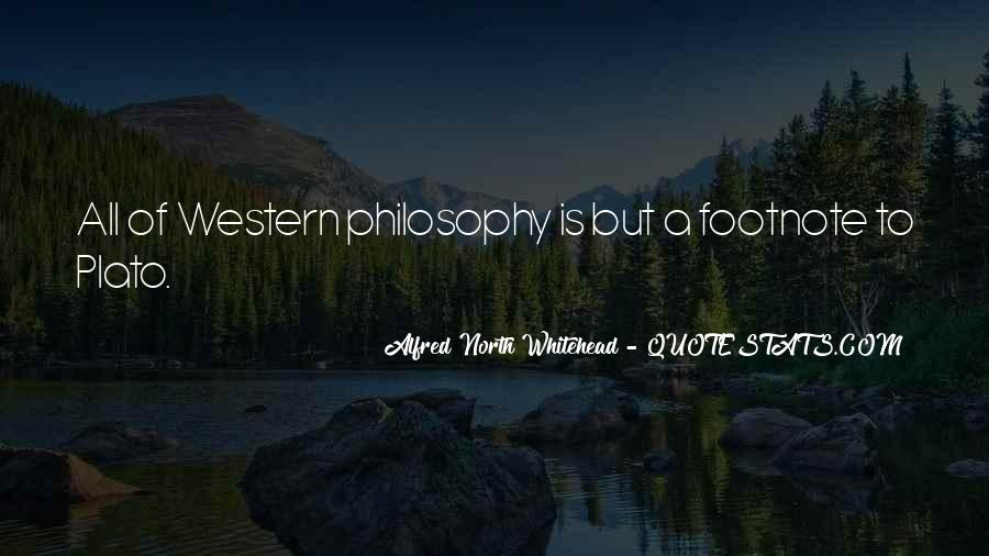 Alfred North Whitehead Sayings #617326