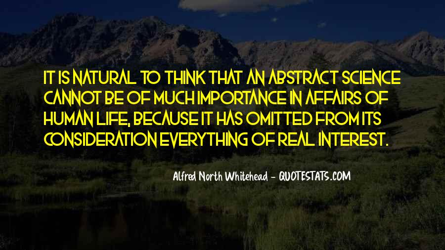 Alfred North Whitehead Sayings #647915