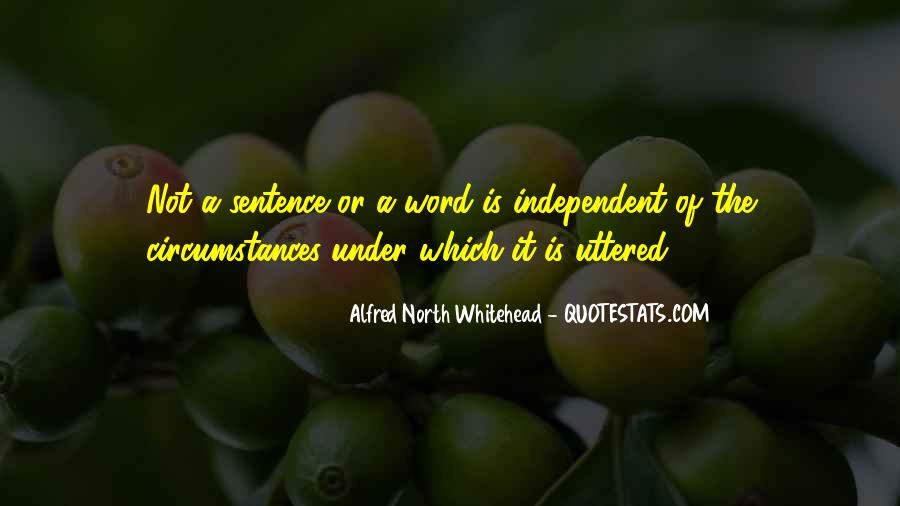 Alfred North Whitehead Sayings #661843