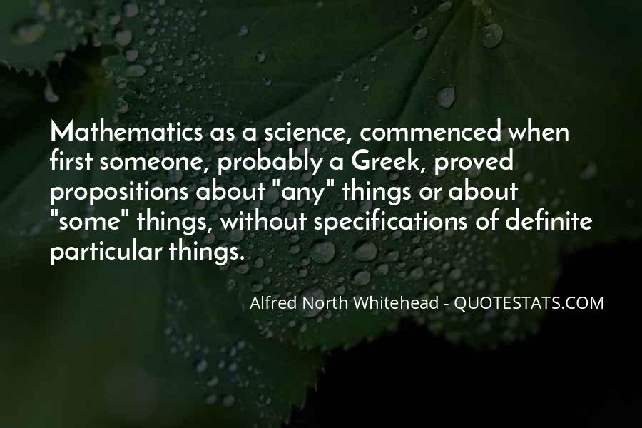 Alfred North Whitehead Sayings #72360
