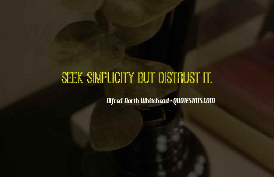 Alfred North Whitehead Sayings #96385
