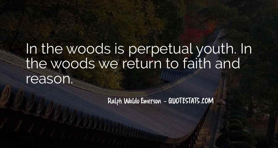Woods Quotes Sayings #1675716