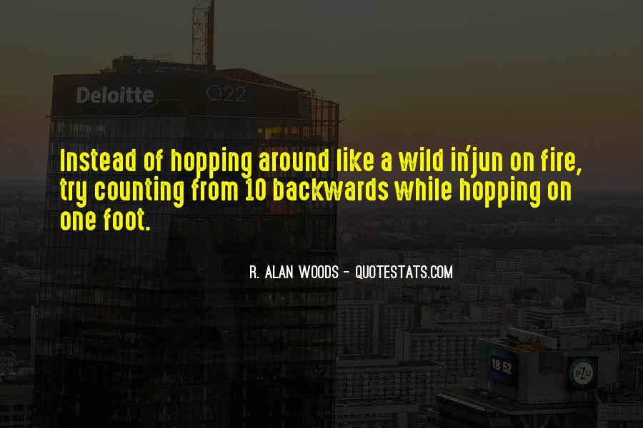 Woods Quotes Sayings #168879