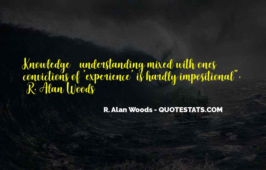 Woods Quotes Sayings #1822539
