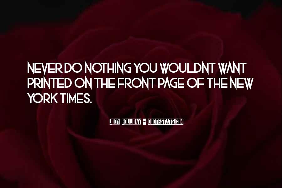 I Wouldnt Sayings #1852545