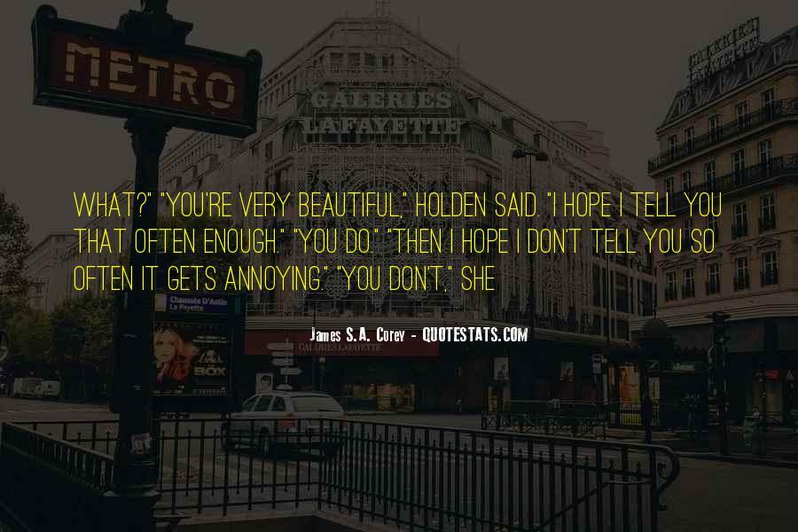 You So Beautiful Sayings #199457