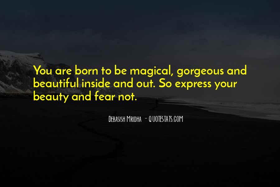 You So Beautiful Sayings #82187