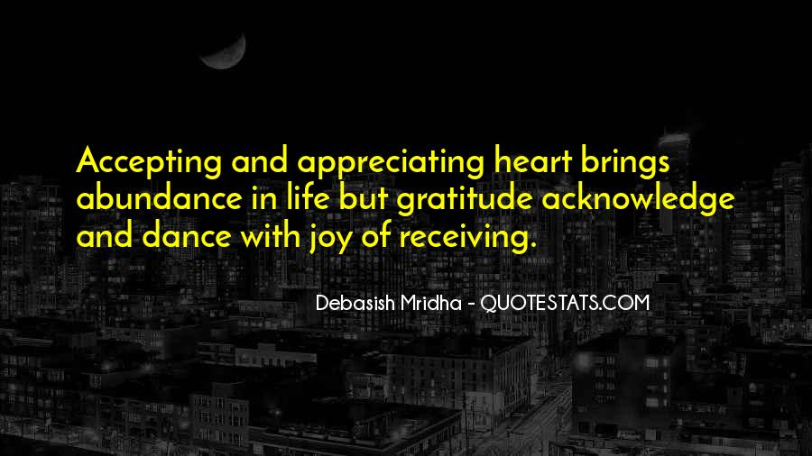 Acknowledge Quotes And Sayings #302262