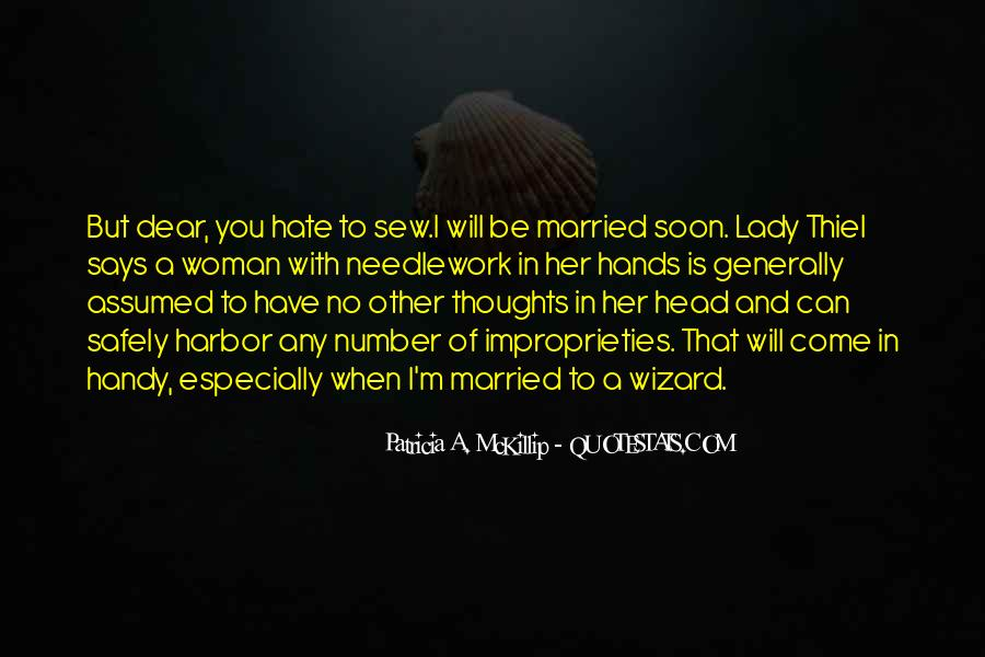 Quotes About Soon To Be Married #1402632