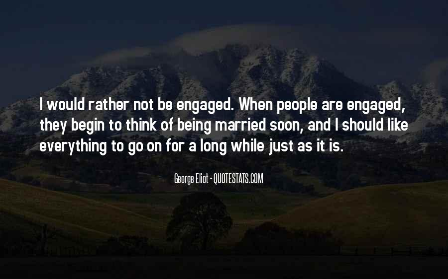 Quotes About Soon To Be Married #941649