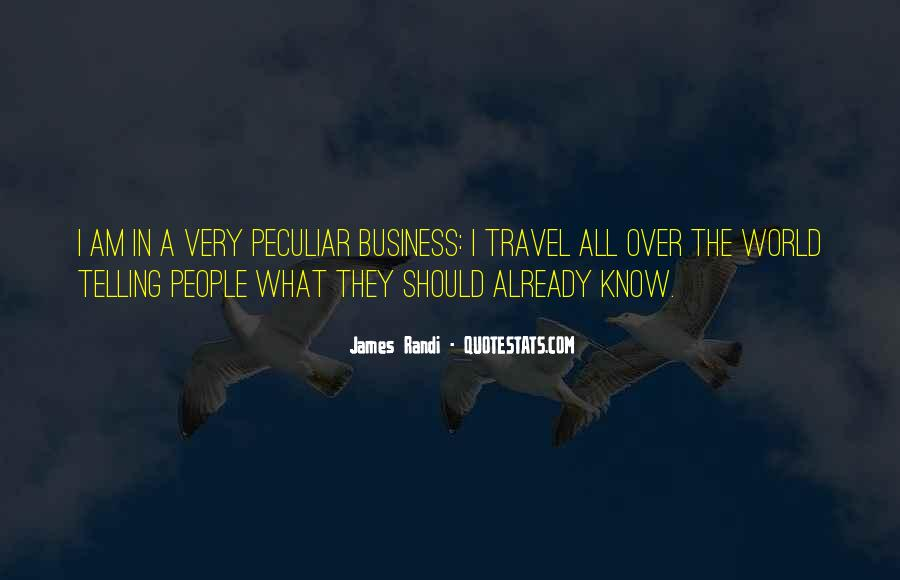 Quotes About Telling All Your Business #116122