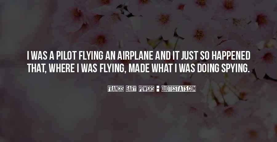 Airplane Flying Sayings #1468899