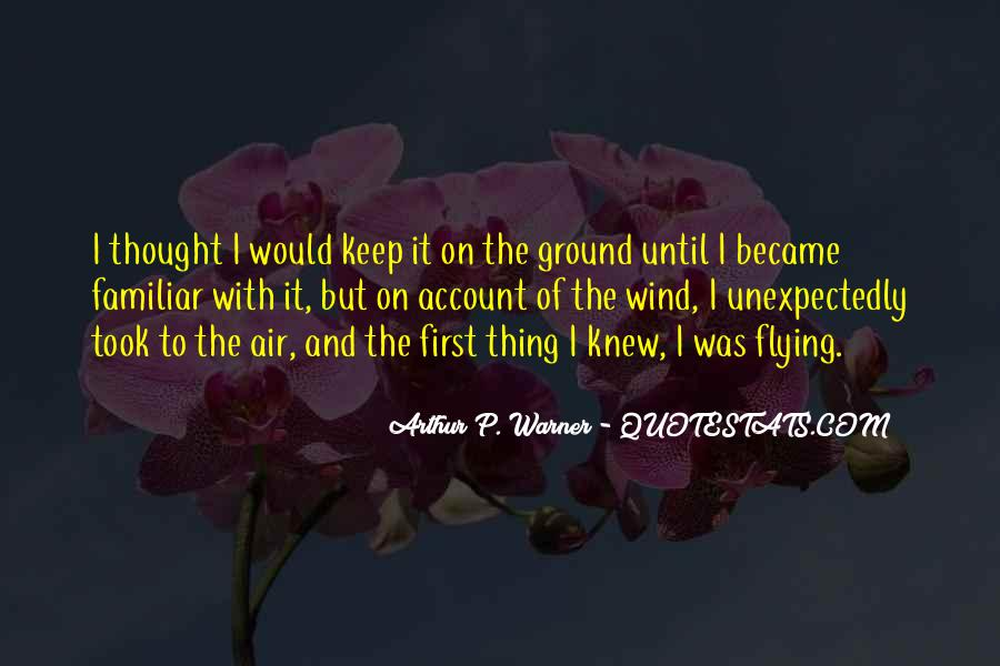 Airplane Flying Sayings #225912