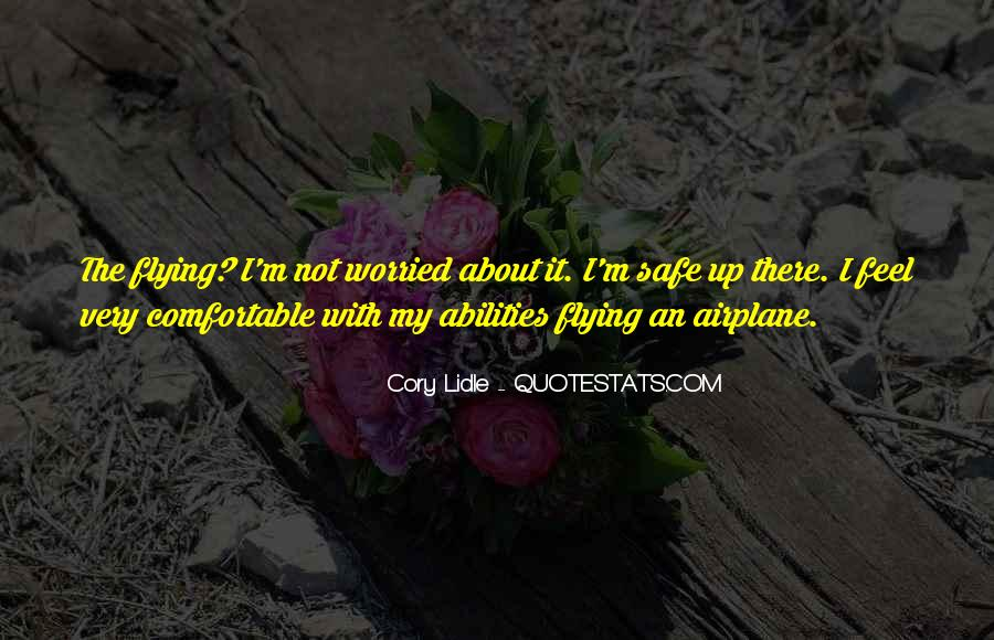 Airplane Flying Sayings #773574