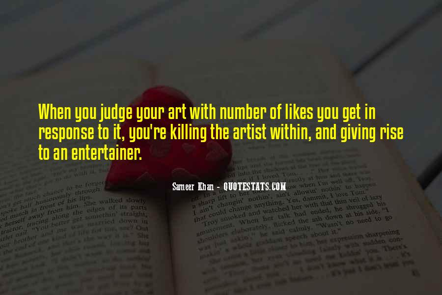 Art Quotes And Sayings #1300439