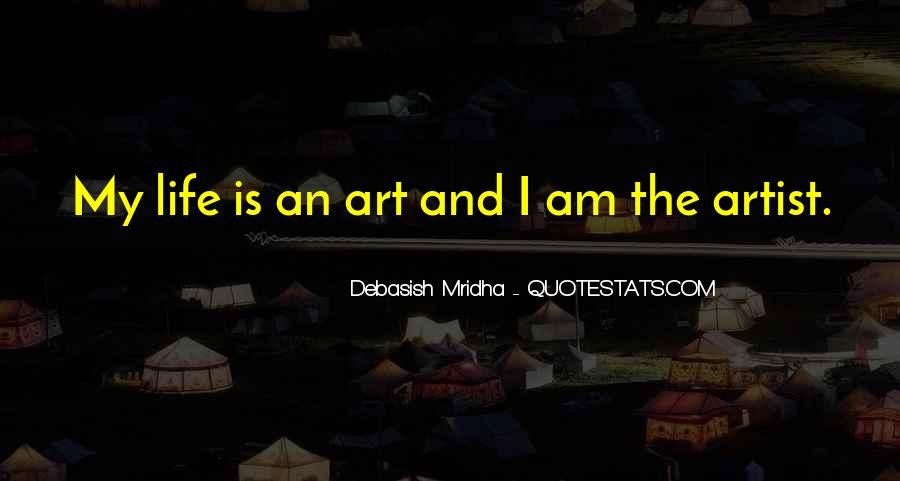 Art Quotes And Sayings #1303695