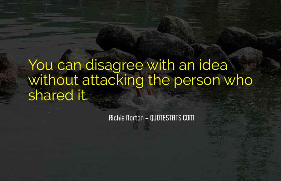 Attacking Quotes Sayings #1072002