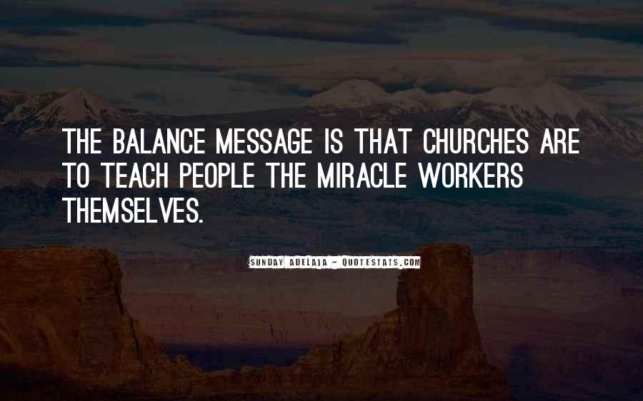 Balance Quotes And Sayings #1119533