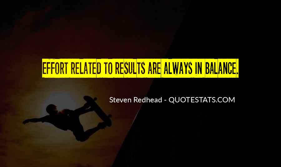 Balance Quotes And Sayings #1333078