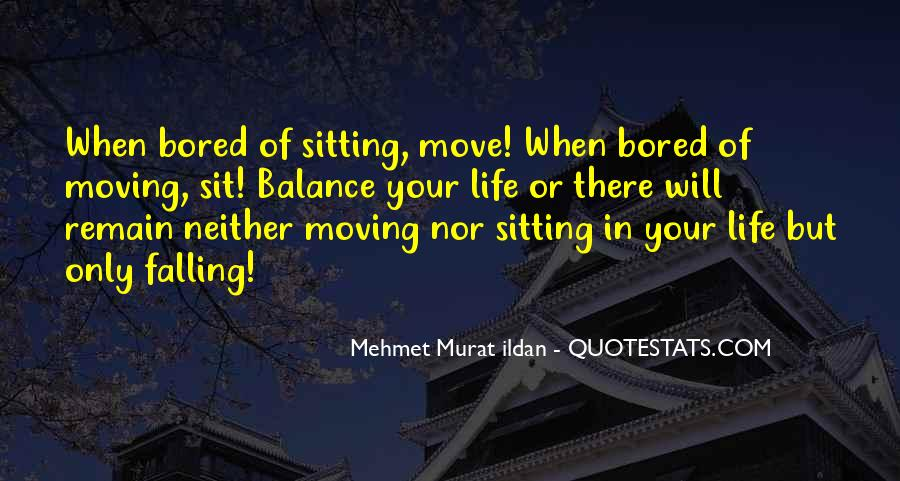 Balance Quotes And Sayings #159844