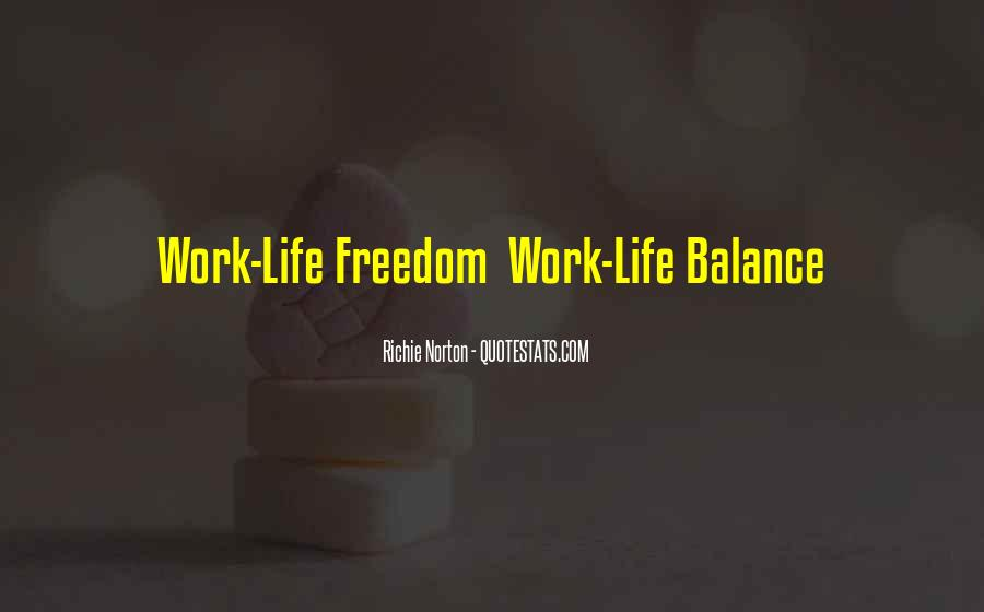 Balance Quotes And Sayings #1790802