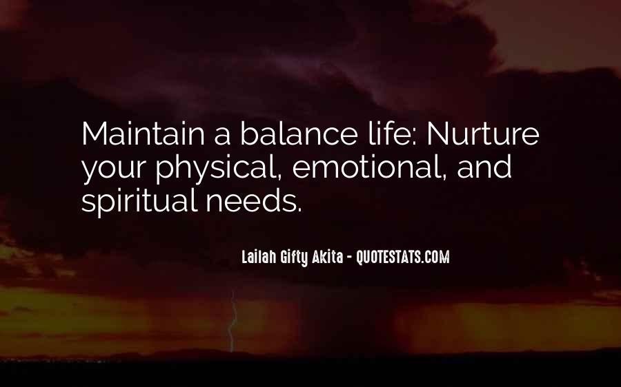 Balance Quotes And Sayings #694583