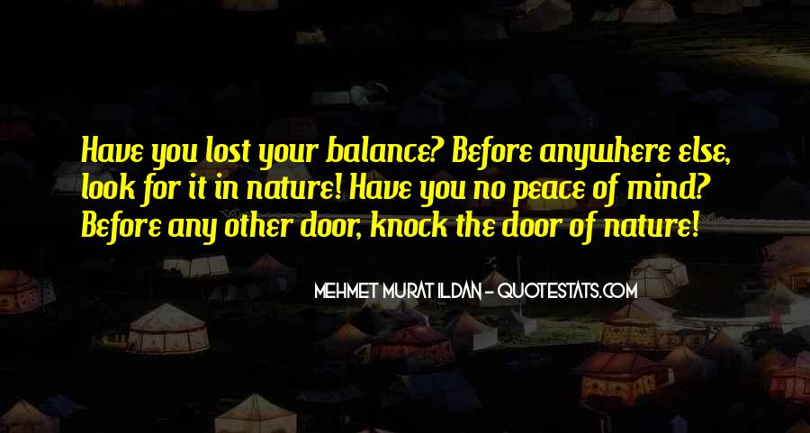 Balance Quotes And Sayings #784520