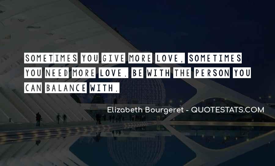 Balance Quotes And Sayings #944921