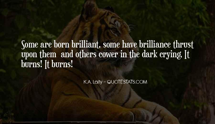 Brilliance Quotes And Sayings #1202244