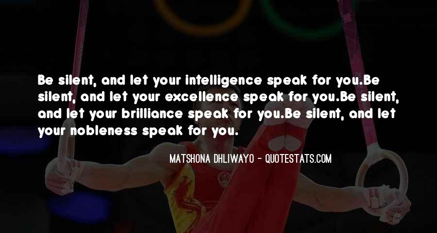 Brilliance Quotes And Sayings #74006