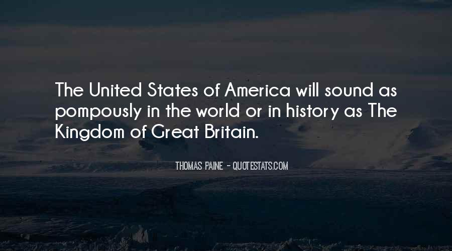 America Vs Britain Sayings #244228