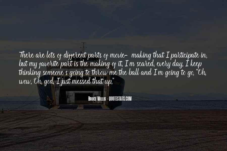 Bruce Willis Movie Sayings #1194431