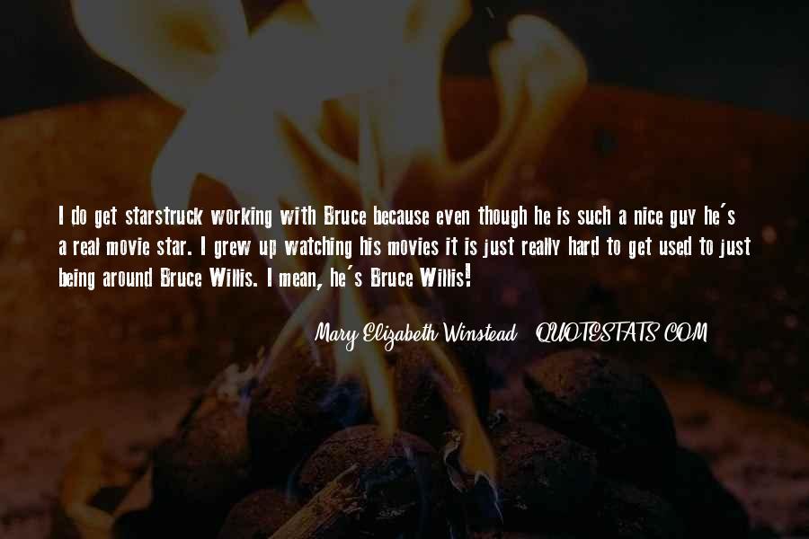Bruce Willis Movie Sayings #367685