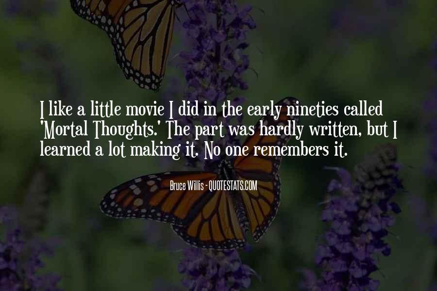 Bruce Willis Movie Sayings #949093